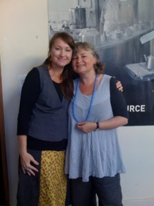 With Nicole Findlay, my old Monday host of many years