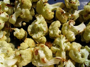 first roast your cauliflower