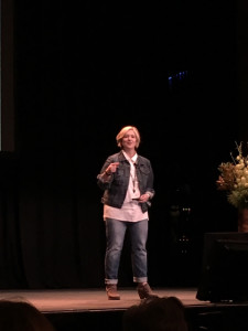 Brene Brown, State Theatre Sydney 2016
