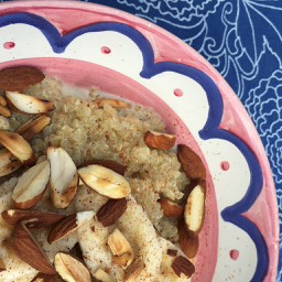creamy quinoa for breakfast