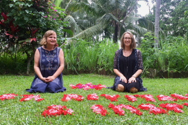 Gill Stannard Charmaine Dennis Bali health practitioner retreat