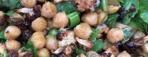 roaasted cauliflower salad gill stannard natruopath