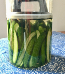 reipce pickles cucumber vegetable brine vegan