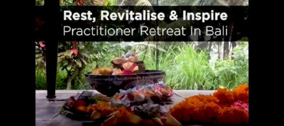 health practitioner retreat Bali 2018 Gill Stannard Charmaine Dennis