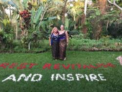 Gill Charmaine Bali retreat