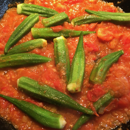 vegan okra recipe