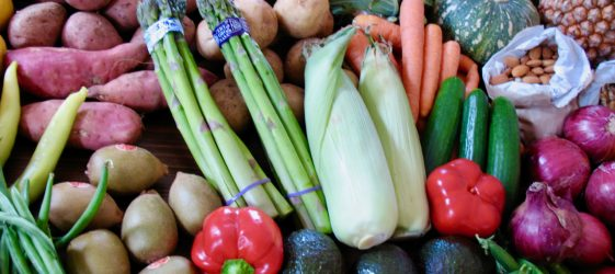 display of spring vegetables shared by Gill Stannard naturopath