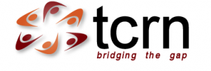"""translational cancer research network and logo and words """"tcrn bridging the gap"""""""