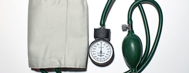 blood pressure cough analogue dial and pump